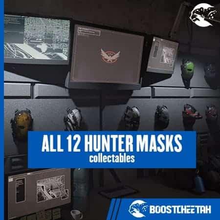 All 12 Hunter Masks