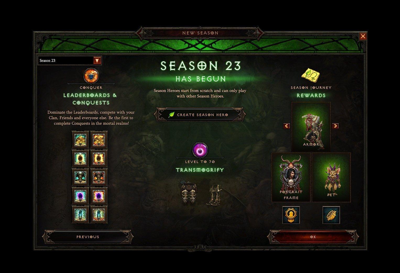 Diablo 3 Season 23 Rewards