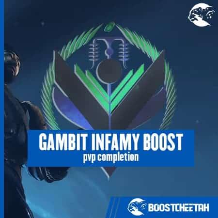 Gambit Infamy Rank - 65% OFF