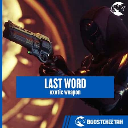 Last Word (Hand Cannon)